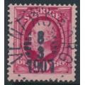SWEDEN - 1891 10öre bright carmine Oscar II, used – Facit # 54e