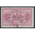 SWEDEN - 1892 50öre carmine Official (Tjänstemärke), type II, perf. 13, used – Facit # TJ22B