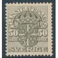 SWEDEN - 1915 50öre grey Official (Tjänstemarke), without watermark, MNH – Facit # TJ54v