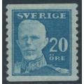 SWEDEN - 1920 20öre blue Gustav V, perf. 9¾ on 2-sides, MH – Facit # 151Ad