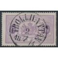 SWEDEN - 1874 6öre reddish violet Official (Tjänstemärke), perf. 14, used – Facit # TJ4a