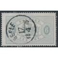 SWEDEN - 1874 6öre grey Official (Tjänstemärke), perf. 14, used – Facit # TJ4b