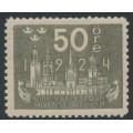 SWEDEN - 1924 50öre grey World Postal Congress, MH – Facit # 205