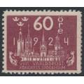 SWEDEN - 1924 60öre red-lilac World Postal Congress, MH – Facit # 206