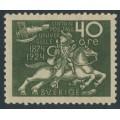 SWEDEN - 1924 40öre olive-green UPU Anniversary, MH – Facit # 218