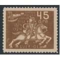 SWEDEN - 1924 45öre brown UPU Anniversary, MH – Facit # 219