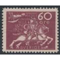SWEDEN - 1924 60öre red-lilac UPU Anniversary, MH – Facit # 221
