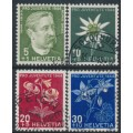 SWITZERLAND - 1944 Pro Juventute set of 4, used – Michel # 439-442