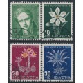 SWITZERLAND - 1946 Pro Juventute set of 4, used – Michel # 475-478