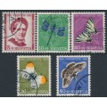 SWITZERLAND - 1951 Pro Juventute set of 5, used – Michel # 561-565