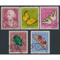 SWITZERLAND - 1957 Pro Juventute set of 5, used – Michel # 648-652