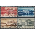 SWITZERLAND - 1938 International Organisations set of 4, used – Michel # 321-324