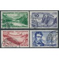 SWITZERLAND - 1931 Pro Juventute set of 4, used – Michel # 246-249