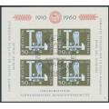 SWITZERLAND - 1960 Pro Patria M/S, used – Michel # Block 17
