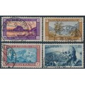 SWITZERLAND - 1929 Pro Juventute set of 4, used – Michel # 235-238