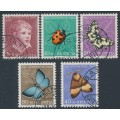 SWITZERLAND - 1952 Pro Juventute set of 5, used – Michel # 575-579
