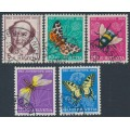 SWITZERLAND - 1954 Pro Juventute set of 5, used – Michel # 602-606
