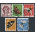 SWITZERLAND - 1955 Pro Juventute set of 5, used – Michel # 618-622