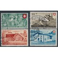 SWITZERLAND - 1946 Pro Patria set of 4, used – Michel # 471-474