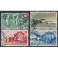 SWITZERLAND - 1947 Pro Patria set of 4, used – Michel # 480-483