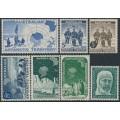 AUSTRALIA / AAT - 1957-1961 complete set of 7 pre-decimals, MNH – SG # 1-7
