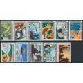 AUSTRALIA / AAT - 1966-1968 First Decimals complete set of 11, mint never hinged – SG # 8-18