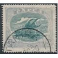 PAPUA / BNG - 1919 2½d myrtle/ultramarine Lakatoi, sideways watermark, used – SG # 97