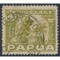 PAPUA / BNG - 1932 4d olive-green Mother & Child, used – SG # 135
