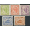 PAPUA / BNG - 1911 ½d to 2½d plus 6d Lakatois, sideways watermark, MH – SG # 84-87 + 89