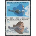 AUSTRALIA / AAT - 1979 Byrd's Flight over South Pole set of 2, MNH – SG # 35-36