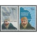 AUSTRALIA / AAT - 1982 Mawson's Birth Centenary set of 2, MNH – SG # 53-54