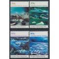 AUSTRALIA / AAT - 1989 Antarctic Landscape Paintings set of 4, MNH – SG # 84-87