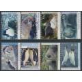 AUSTRALIA / AAT - 1992-1993 Antarctic Wildlife set of 8, MNH – SG # 90-97