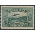 NEW GUINEA - 1939 5d deep green Bulolo Goldfields, mint hinged – SG # 218