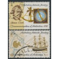 AUSTRALIA / AAT - 1972 Cook's Circumnavigation set of 2, used – SG # 21-22